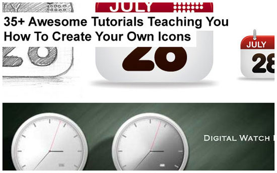 How To Create Your Own Icon