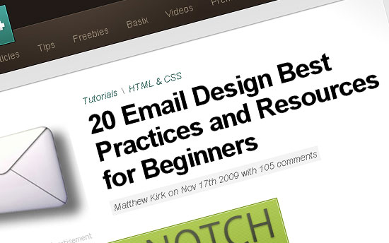 20 Email Design Best Practices and Resources for Beginners