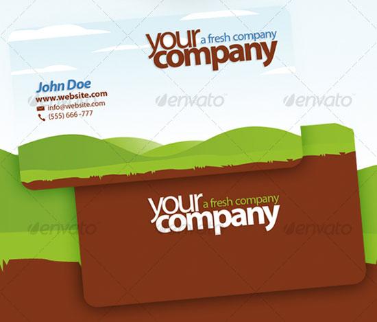 premium business card