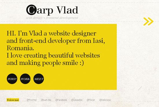 vCard design inspiration