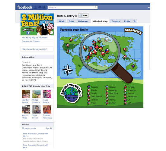 Facebook Business Page-foods