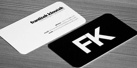40 creative and minimalist business card designs creative and minimalist business card designs reheart Image collections