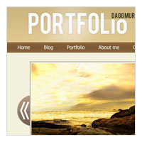 top photoshop tutorials in portfolio layout