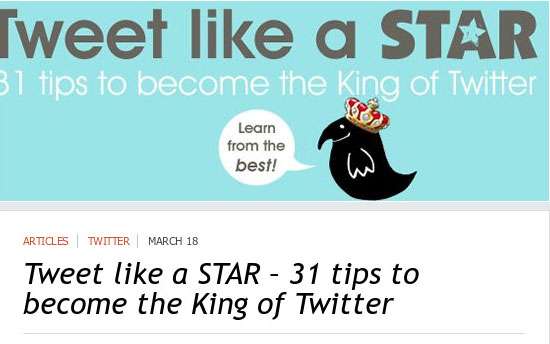 build your success with twitter