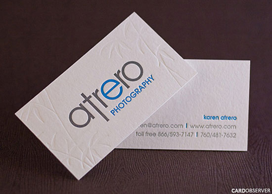 40 creative and minimalist business card designs atrero photography creative and minimalist business card designs reheart Gallery
