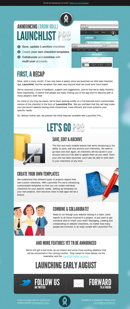 Inspiring Creative Studio Email Newsletters - Creative newsletter design templates
