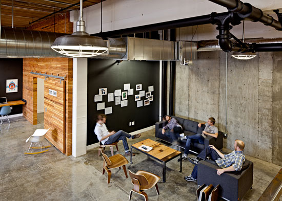 Stupendous Showcase Of Inspiring Graphic Designer Offices Largest Home Design Picture Inspirations Pitcheantrous