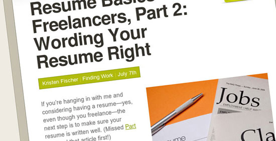 15 Useful Design Tips Articles to Create a Great Resume