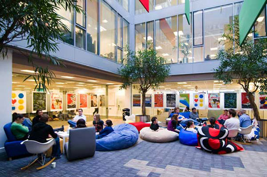 A Showcase of Amazing Google Offices in 12 Cities