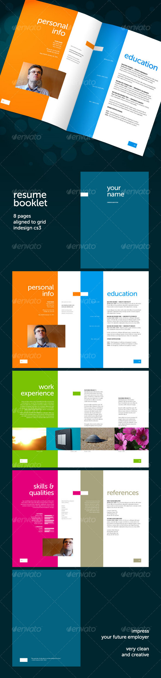 Get your Dream Job - 15 Clean & Elegant Resume Templates