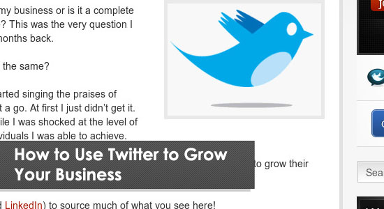 Must read articles to grow up your business with twitter