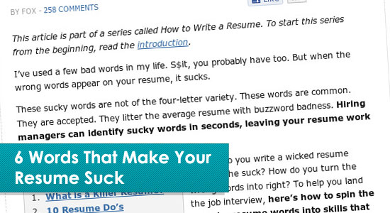 Resume Writing Tips  Tips For Resume Writing