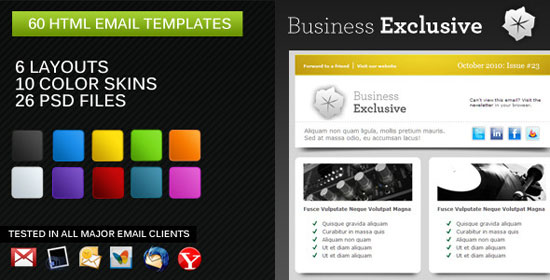 10 Best Email Newsletter Templates For Your Business