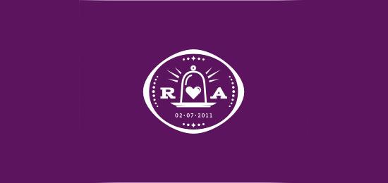 logo design with creative border