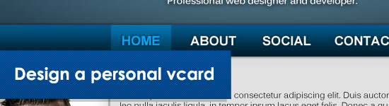 vCard Template Tips and Tutorials