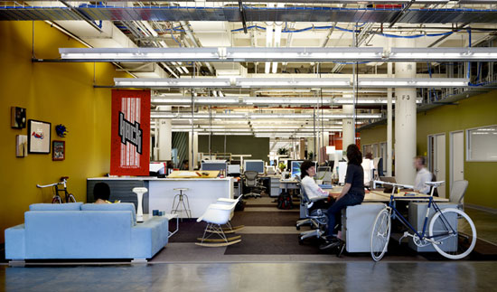Beautiful Facebook Offices