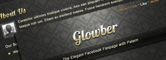 Free Elegant Facebook Page Template