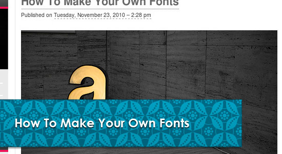 Useful Typography Tips Articles