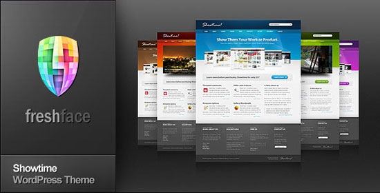 Best Corporate Website Templates - Website front page template