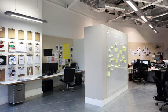 Office showcase inspiring web design agency for Design agency office