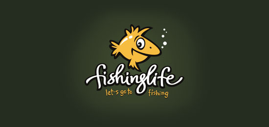 Beautiful Fish Logo Design