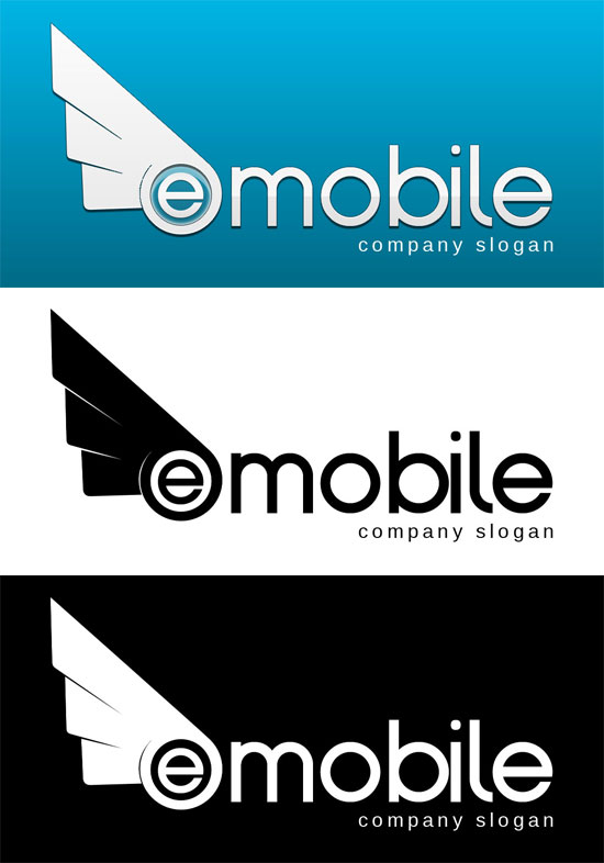 Free Logo Template - emobile