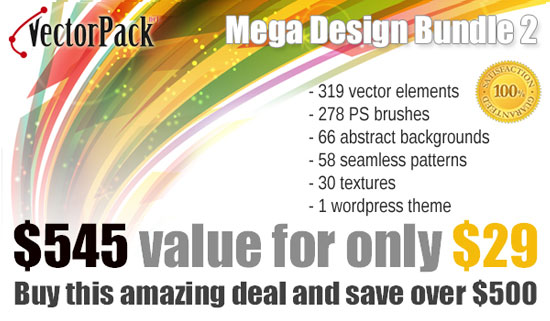 Mega Design Bundle Vector Pack