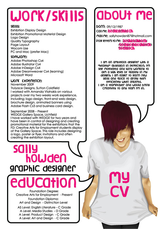 Resume Design By MegaBoneDesigns  Resume Design Examples