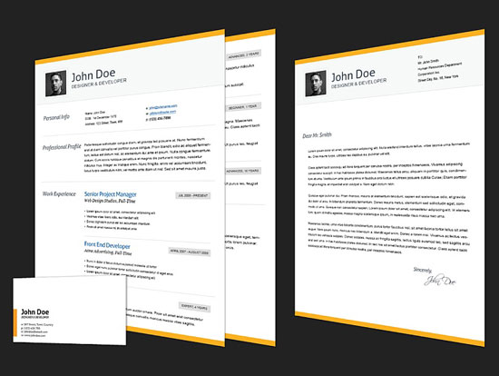Beautiful Resume Html Templates