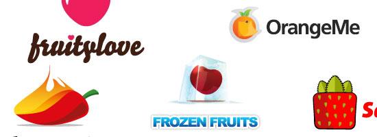 Fruits & Vegetables Logo images