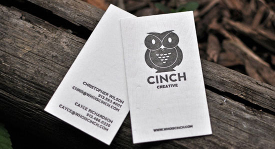 65 minimalist vertical business card designs cinch creative vertical business cards reheart Choice Image