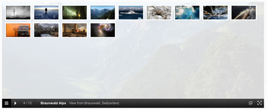jQuery image gallery plugins
