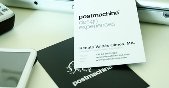 vertical business cards