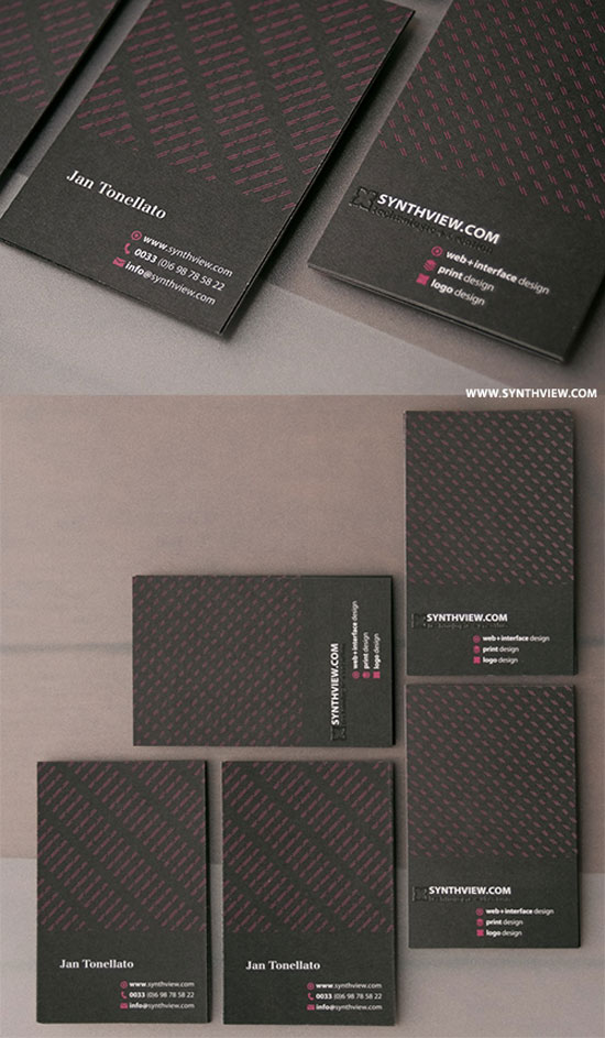 65 minimalist vertical business card designs vertical business cards reheart Choice Image