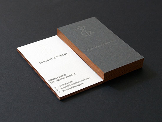 65 minimalist vertical business card designs