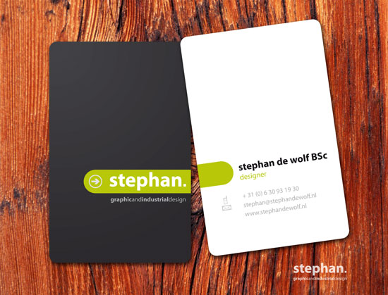 65 minimalist vertical business card designs vertical business cards flashek Gallery