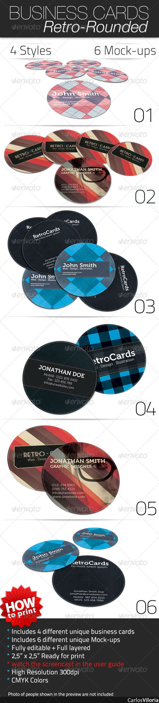 30 creative circle business card designs circle business card designs magicingreecefo Image collections