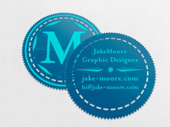 30 creative circle business card designs circle business card designs accmission Gallery