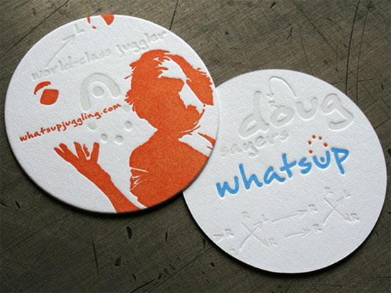 Circle Business Card Designs