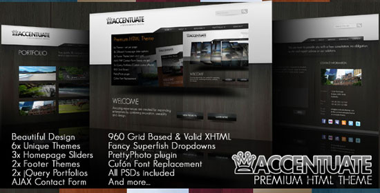 3D Slider Website Templates