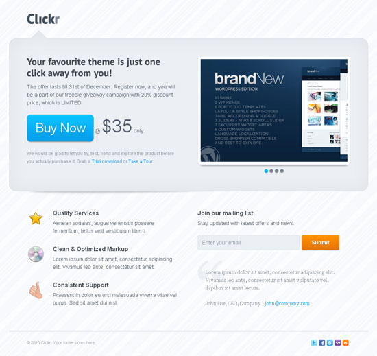 13 Best Landing Page Templates for Effective Product Promotion
