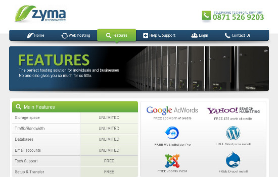 Web Hosting Giveaway from Zyma