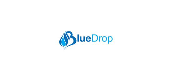logo design inspiration 36 water drop logos