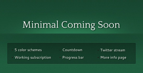 12 great coming soon page templates for winning product launch