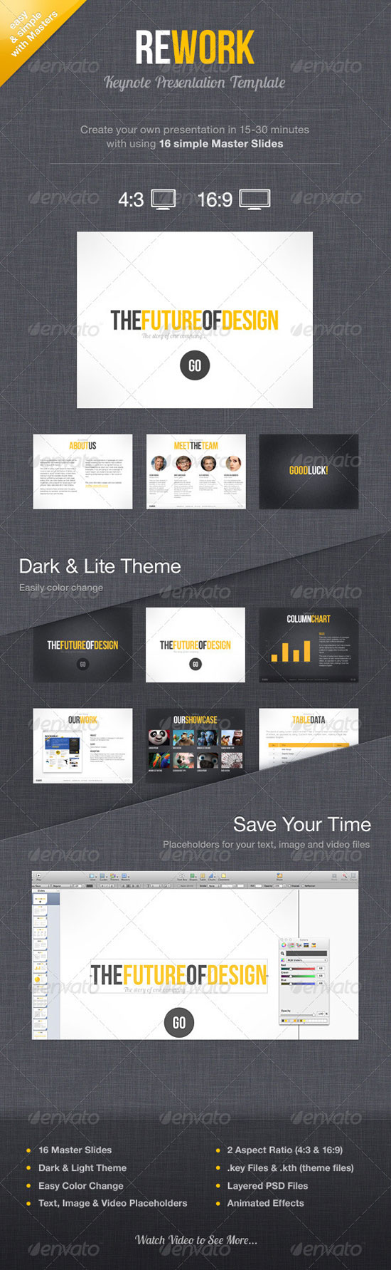 best keynote template