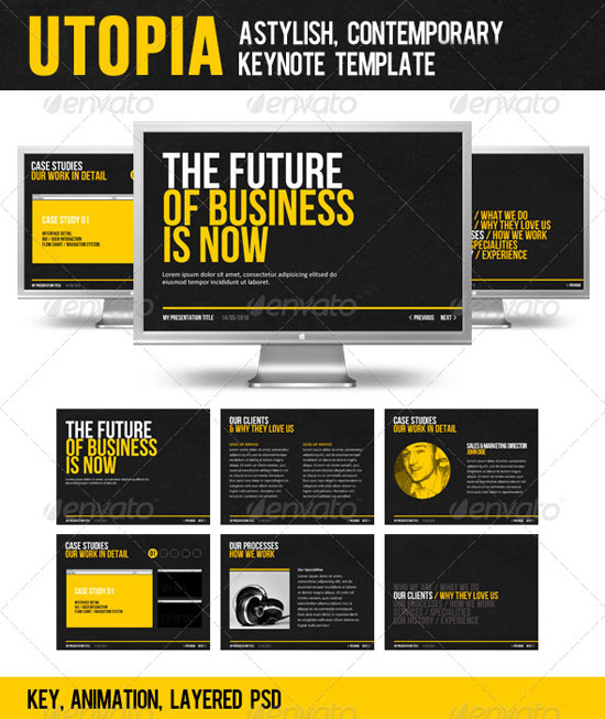 Creative Keynote Templates To Presentation Your Business