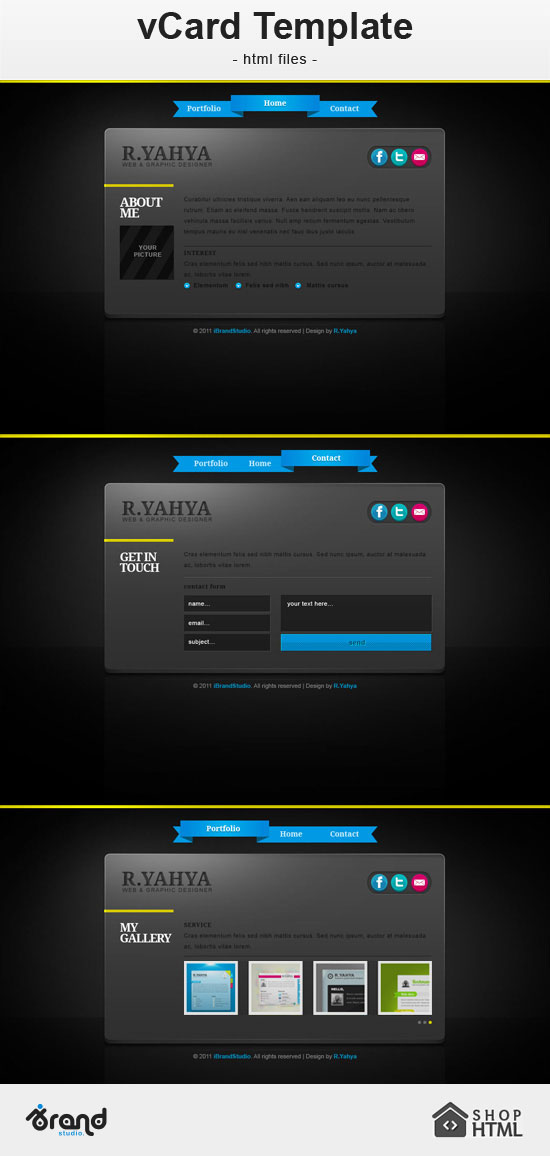 Free HTML CSS Template