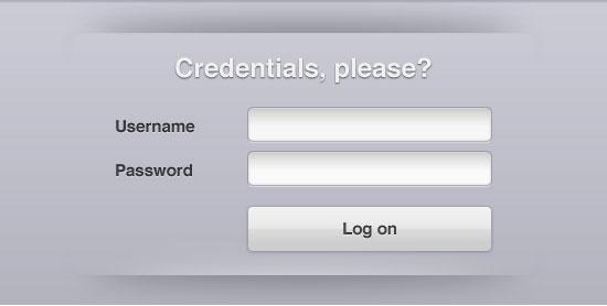 Free Web Forms PSD