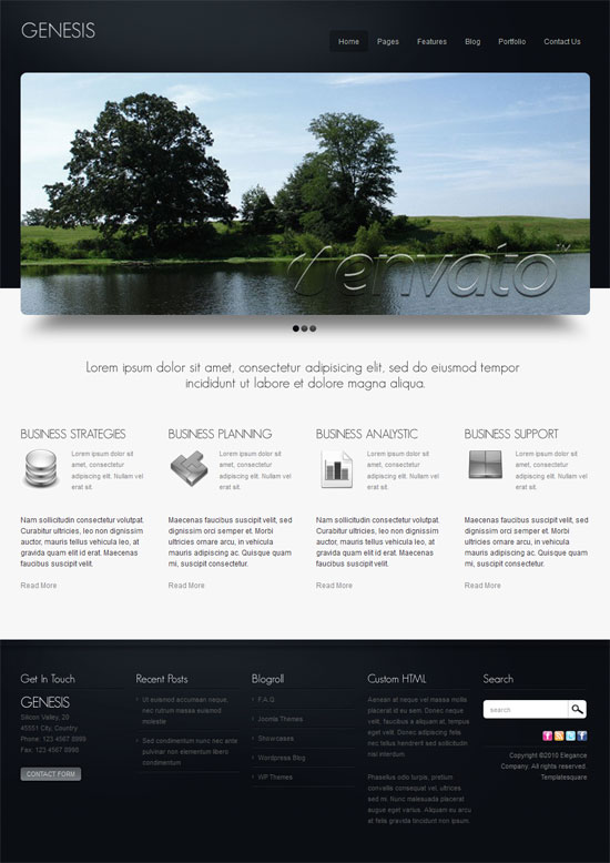 Professional Business Website Templates For Branding - Professional website templates