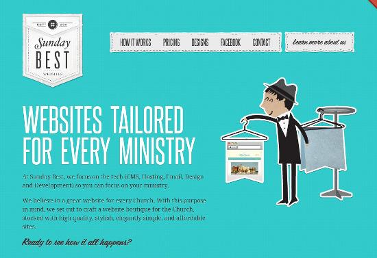 25 Creative Portfolio Websites using Illustration